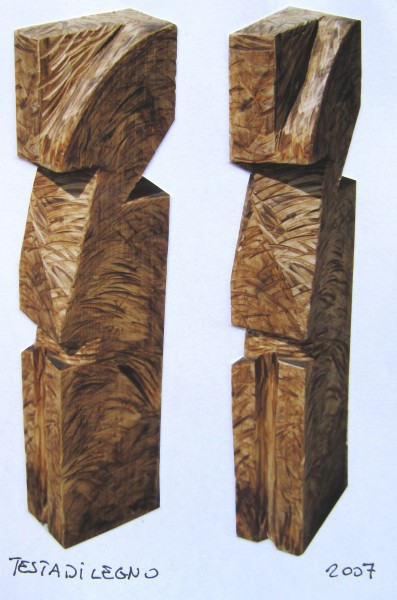testa di legno (scultura)