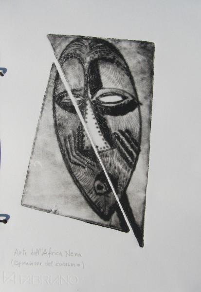 l'arca dell'arte – maschera africana – pag 11