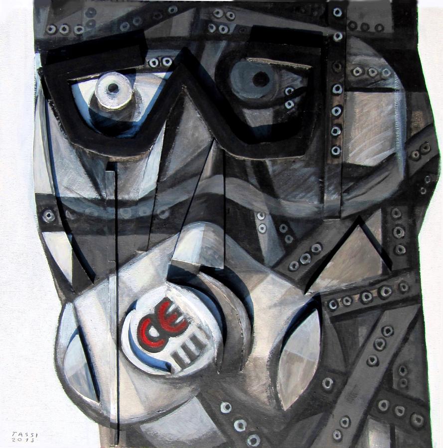 13093 - testa con mascherina CE 008696r