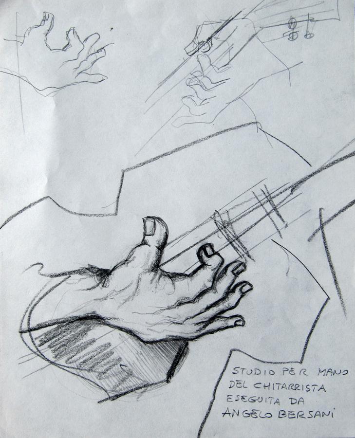 85053 - mano del chitarrista
