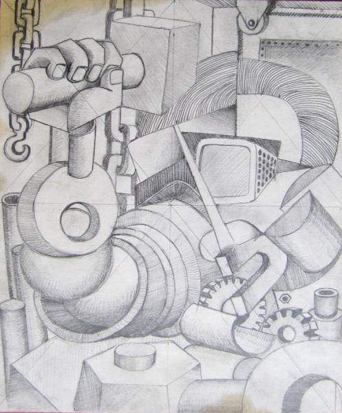 operaio con martello