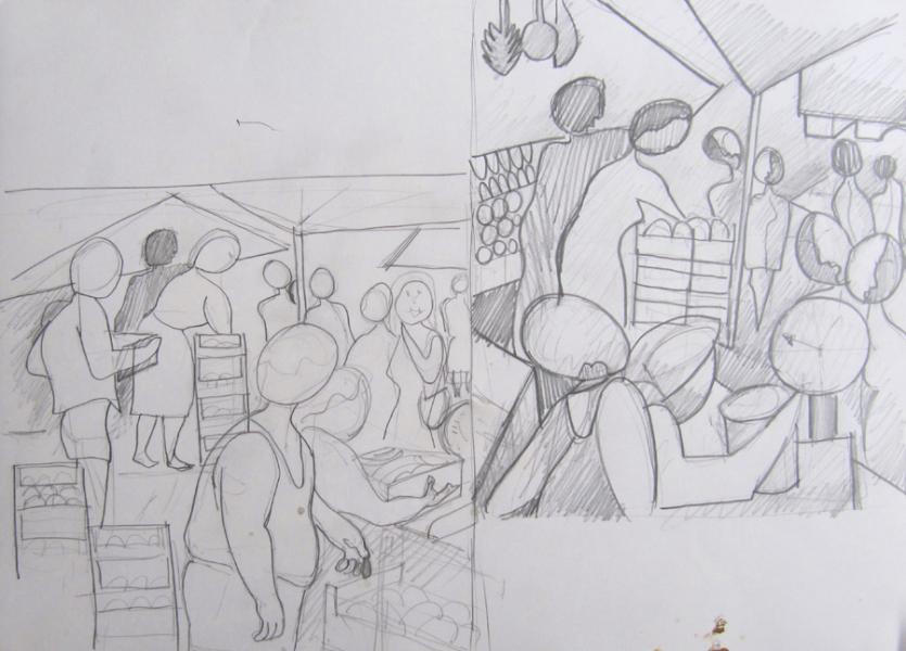 al mercato (studio)